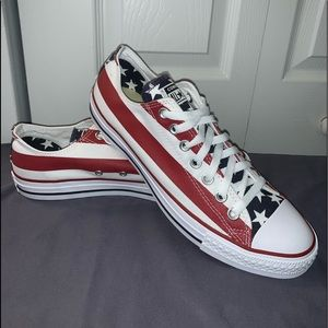 Converse Shoes - 🇺🇸Converse All Star Ox (American Flag)